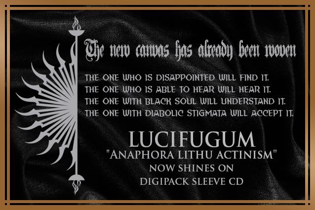 LUCIFUGUM 'Agonia Agnosti' cd