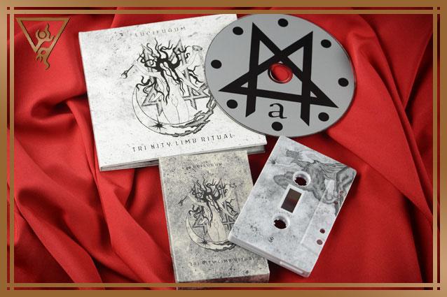 LUCIFUGUM 'Tri nity limb ritual' digipack sleeve cd