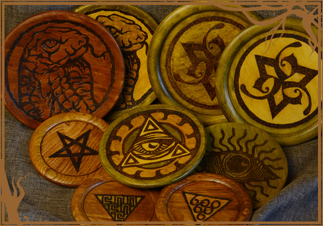 Primitive Magic (pyrography serie)